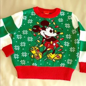 Other - Disney Mickey Mouse holiday ugly Christmas sweater